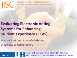 Evaluating Electronic Voting Systems for Enhancing Student