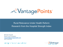 Rural Relevance Under Health Reform