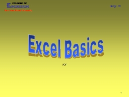 1 Excel  KY   2 Engineering Analysis