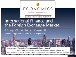 International Finance and