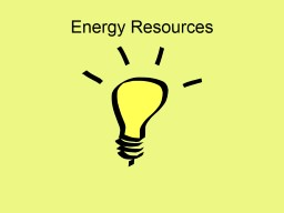 Energy Resources Building Background