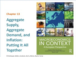 Aggregate Supply, Aggregate Demand, and Inflation: Putting It All Together