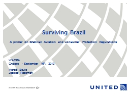 Surviving Brazil A primer