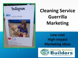 Cleaning Service Guerrilla