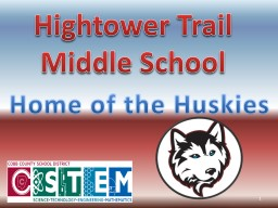 Hightower Trail Middle School