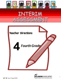 INTERIM  ASSESSMENT Teacher