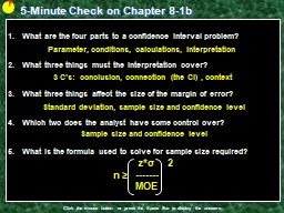 5-Minute Check on Chapter 8-1b