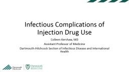 Dartmouth-Hitchcock  Section of Infectious Disease and International Health