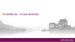 Scotland tourism promotion