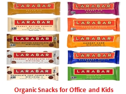 Organic Snacks for Office and Kids