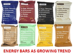 ENERGY BARS AS GROWING TREND PowerPoint PPT Presentation