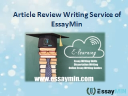 Get Financial Analysis Paper Writing Services by EssayMin