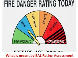 What is meant by BAL Rating Assessment? PowerPoint Presentation, PPT - DocSlides