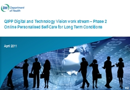 QIPP Digital and Technology Vision work stream – Phase 2 Online