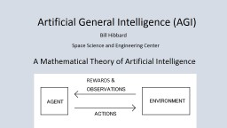 REWARDS & A Mathematical Theory of Artificial Intelligence