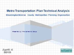 Enhancements and Standardization  to KYTC Regional Models Presented by PowerPoint PPT Presentation
