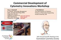 Commercial Development of Cytometry Innovations Workshop