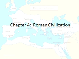 Chapter 4:   Ancient Rome Etruscan Influence Architecture Etruscan