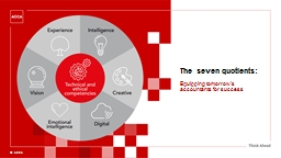 © ACCA The seven quotients: Equipping tomorrow's accountants for success