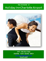Stay Connected at Holiday Inn Charlotte Airport 2707 Little Rock Road