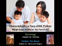 China Adopts a Two-child Policy: