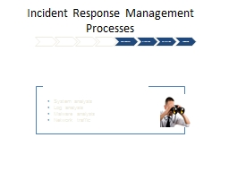 Incident Response Management Processes