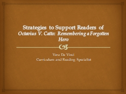 Strategies to Support Readers of