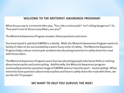 Mini Make-A-Point Motorist Awareness