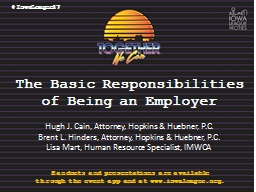 The Basic Responsibilities of Being an Employer