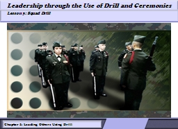Think about what you learned in the previous lessons about drill.