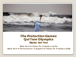 The Protection Games