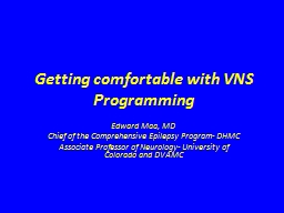 Getting comfortable with VNS Programming