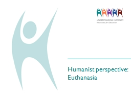 Humanist perspective: