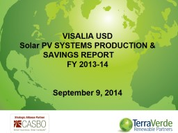 Energy Project M&V: