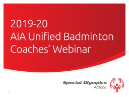 2019-20  AIA Unified Badminton