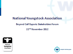 National Youngstock Association