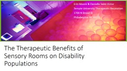 The Therapeutic Benefits of Sensory Rooms on Disability Populations