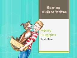 Henry Huggins Beverly Cleary