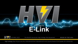 ISO 9001 2015 The World's Source for High Voltage Test Equipment
