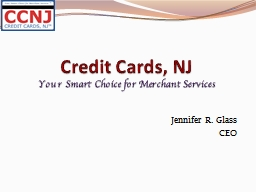Credit Cards, NJ  Your Smart Choice for Merchant Services