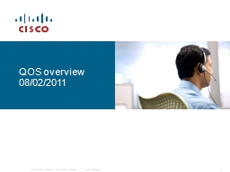 QOS   overview 08/02/2011