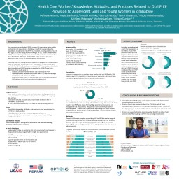 Knowledge Just over three-quarters of providers were familiar with oral PrEP, while 23% had not heard of it (Figure 2). The most common sources of information were the national guidelines/policy and other healthcare workers.