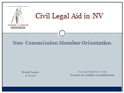 Civil  Legal Aid in