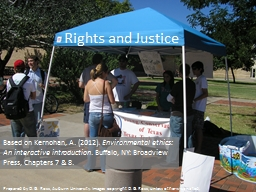Rights and Justice Based on