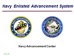 Navy Enlisted Advancement System
