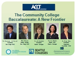The  Community College