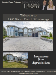 Welcome to  1982 Kiran Court, Mississauga