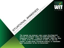 Situational Awareness PowerPoint Presentation, PPT - DocSlides