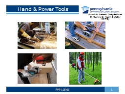 Hand & Power Tools