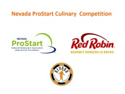 Nevada  ProStart  Culinary  Competition